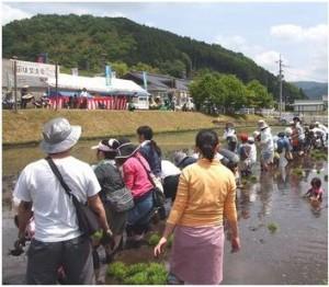 2014年田植え風景